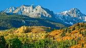 Mount Sneffel, Ridgeway, Colorado — Stock Photo