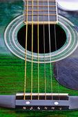 Acoutic-gitaar — Stockfoto