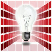 Light bulb — Stockfoto