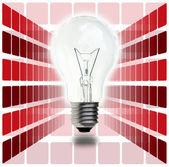 Light bulb — Stok fotoğraf