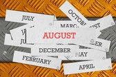 Month — Stock Photo