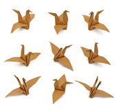 Bird paper — Stock Photo