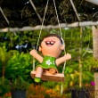Garden doll - Stock Photo