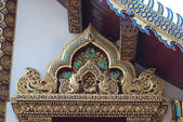 Thai north temple 2 — Stock Photo