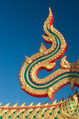 Thai temple decoration — Stock Photo