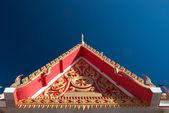 Thai temple roof 2 — Stock Photo