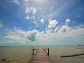 向海的海滩 — 图库照片