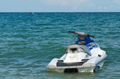 Single jetski in the sea — Foto Stock