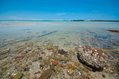 Clear sea water — Stockfoto