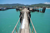 Samui ferry pier — Stock Photo