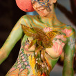 Samui body painting — Stock Photo #7714793
