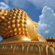 Stock Photo: Big golden buddha