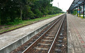 Railway in thailand — Stock Photo
