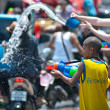 Songkran festival 2011 THAILAND — Stock Photo #7781560