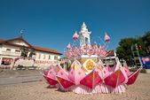 Chiangmai loy krathong festival — Stock Photo