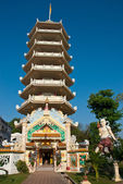 Hadyai chinesischer tempel — Stockfoto