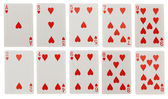 Card game isolated on white background — Stock Photo