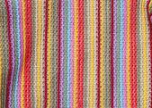 カラフルな繊維テクスチャ — ストック写真