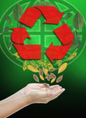 Recycle — Stockfoto