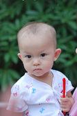 Młoda dziewczyna Azji — Zdjęcie stockowe