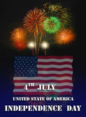United state independence day — Stock Photo