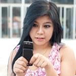 Cute asian young woman — Stock Photo #7811757