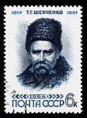 Postal stamp. T. G. Shevchenko, 1964 — Stock Photo