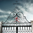 Cemetery Gate — Stock Photo