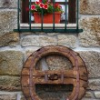 Old Wooden Wheel — Stock Photo #6969217