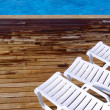 Pool Chairs - Stock Photo