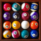 Snooker Balls — Stock Photo