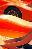 Racing car detail — Stock Photo