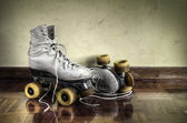 Vintage rolschaatsen — Stockfoto