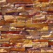 Shale stone wall - Stock Photo