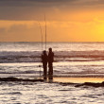 Two Fisherman — Stock Photo