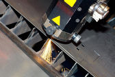 Industrial laser — Stock Photo