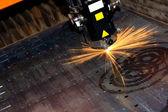 Průmyslová laserová — Stock fotografie