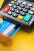 Credit Card Terminal — Stock Photo