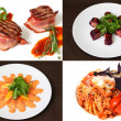 Постер, плакат: Apetyna and nutritious food for gourmets
