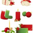 Royalty-Free Stock Vector: Set of vector Christmas icons