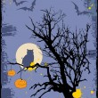 Halloween grunge background - Stock Vector