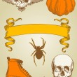 Halloween set — Stock Vector #7464860