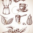 Vintage coffee — Stock Vector #7595194
