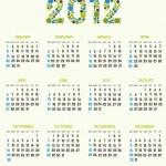 Calendar — Stock Vector #7001694