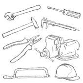 Tools set — Stock Vector