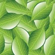 Leaf seamless pattern — Stockvectorbeeld