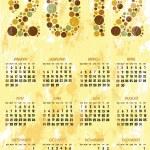 Calendar 2012 — Stock Vector #7591348