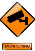 Surveillance — Stock Vector