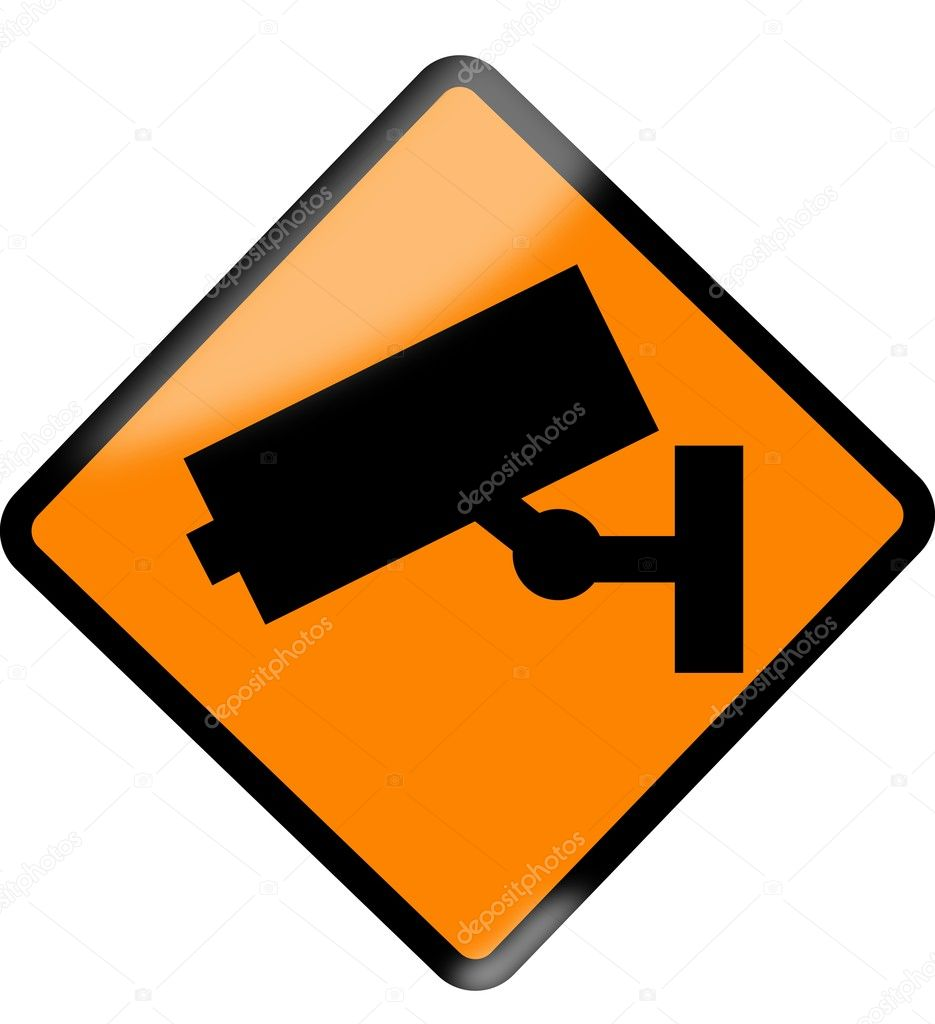Monitoring sign — Stock Vector #6943607