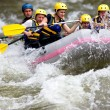 Boat whitewater rafting — Stock Photo #7611067